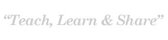 Teach, Learn & Share